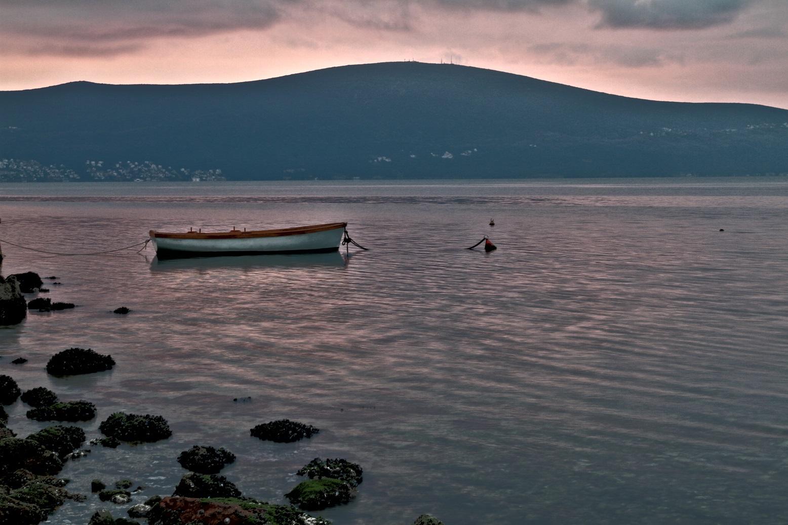 Sunset near Kotor